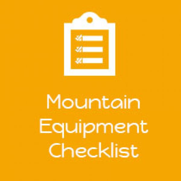 Mountain-Equiment-Checklist